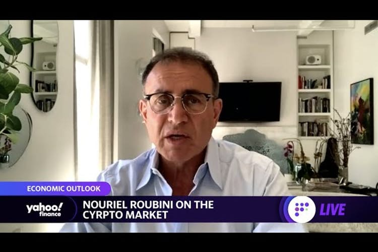 Cryptocurrencies don't have any fundamental value and are driven by speculation: Nouriel Roubini