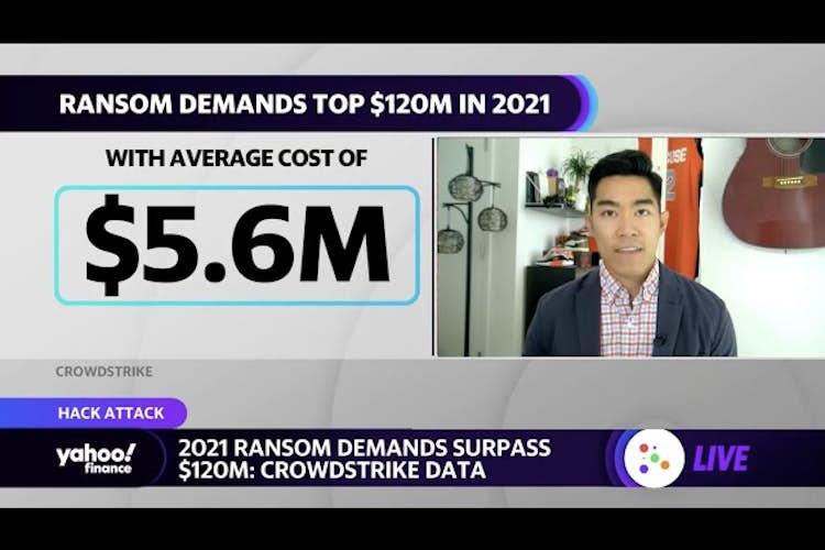 2021 ransom demands surpass $120 million: Crowdstrike