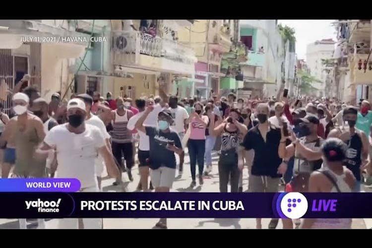 Protests in Cuba escalate, lightning kills at least 38 in India, Italy wins Euro 2020