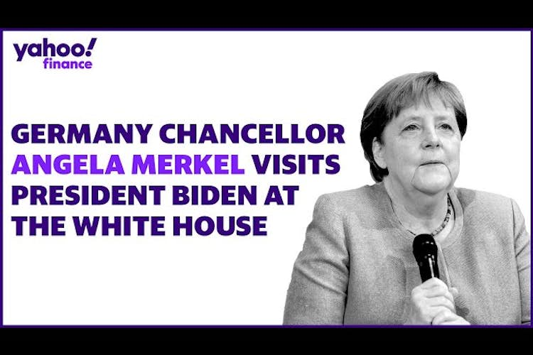 President Biden and German Chancellor Angela Merkel hold joint news conference