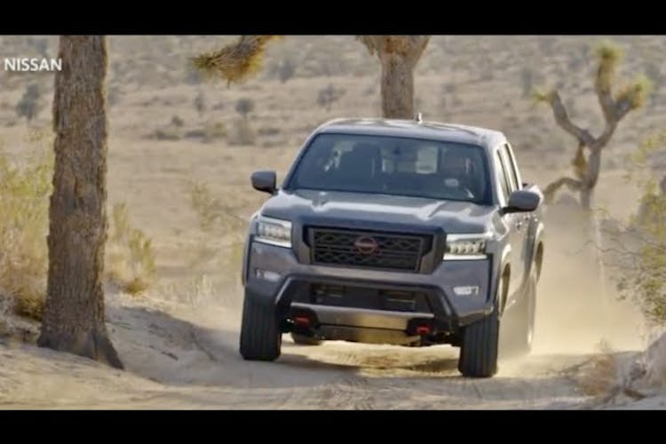 Nissan introduces first fully remodeled Frontier truck in 16 years