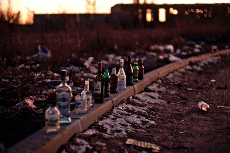 How bad is binge drinking in the UK?