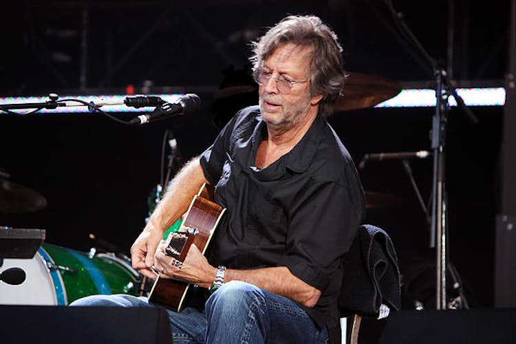 """Eric Clapton won't play """"Covid passport"""" venues and Phillip Schofield's Five Gold Rings axed"""