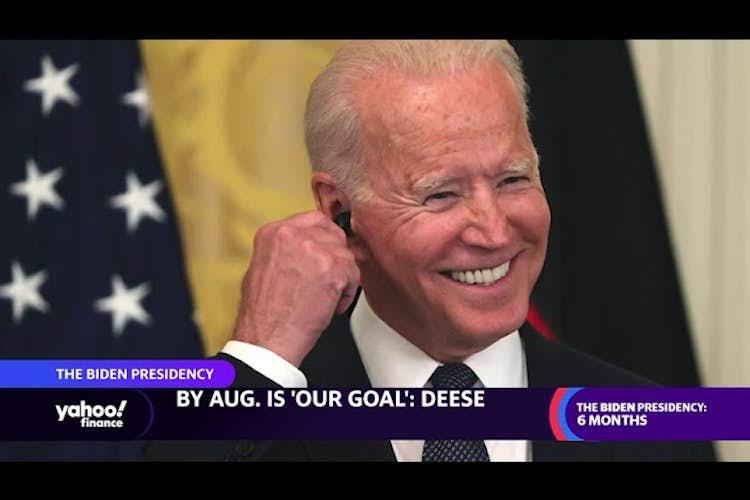 President Biden's economic record, six months in