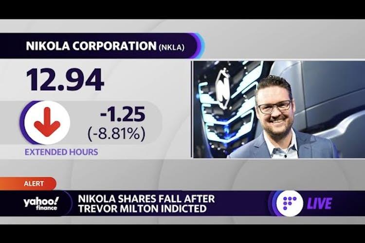 Nikola founder indicted for misleading investors