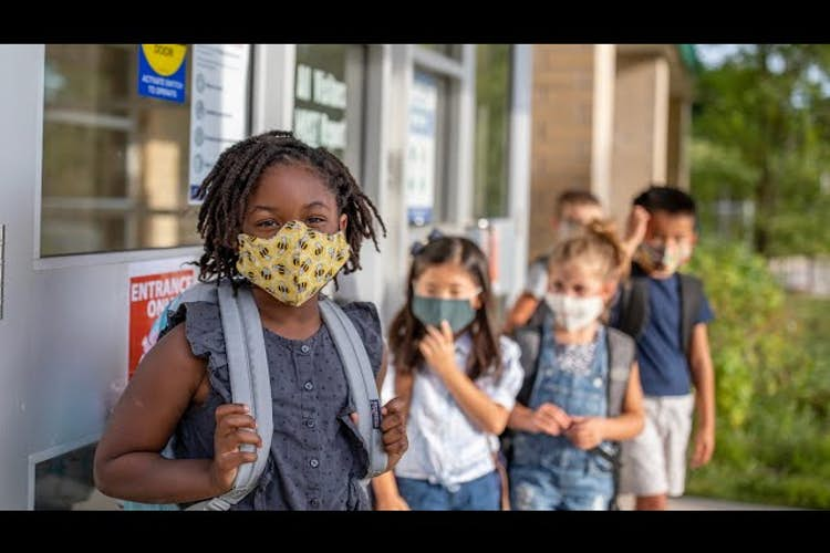 Coronavirus safety: Physician says kids should be masked, teachers vaccinated, and travel avoided