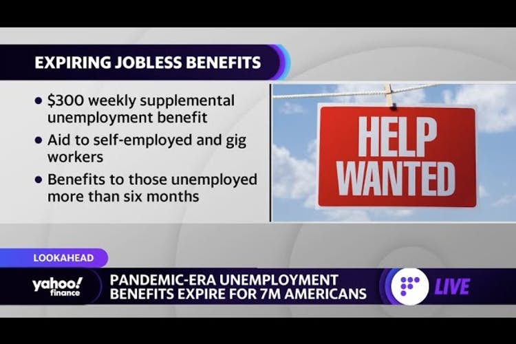Extended unemployment benefits expire for 7 million Americans, plus GameStop earnings preview