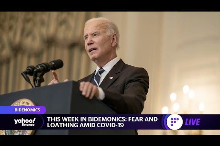 President Biden, fear, loathing and COVID-19: Bidenomics