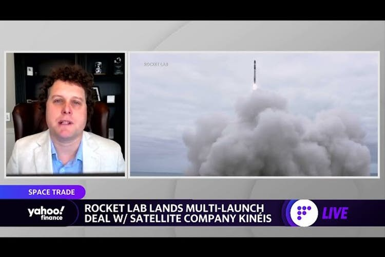 Rocket Lab lands multi-launch deal with satellite company Kinéis