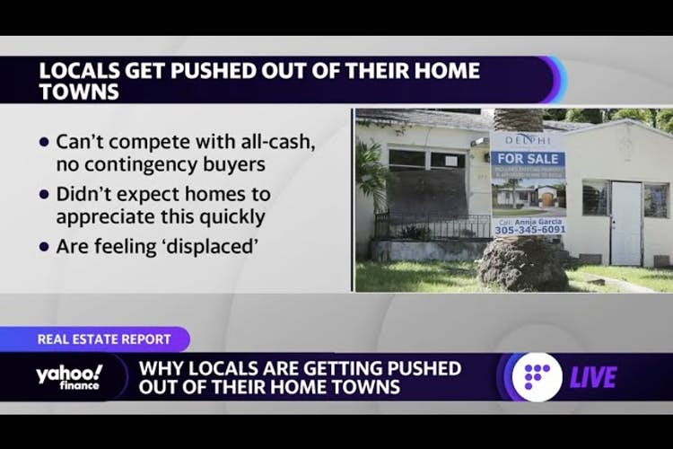 Hot housing market downside: Why locals are being pushed out of their hometown
