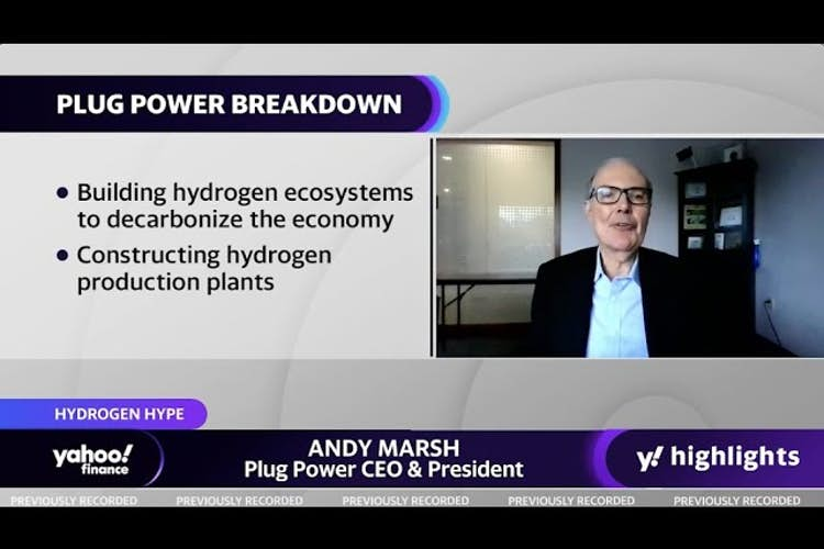 Plug Power on green hydrogen technology for planes; Dapper Labs CEO talks NFTS for the NBA and NFL