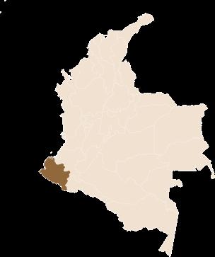 pin Aromas del Viento region Nariño, Colombia in Colombia