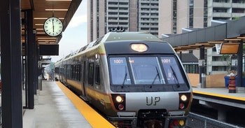 UP Express - Weston