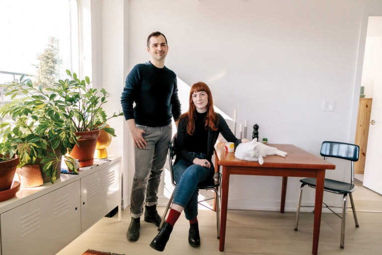 Options purchasers Patrick Kroetsch and Jennifer Tweedie