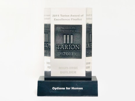 Tarion Award of Excellence
