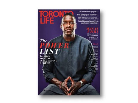 Toronto Life Influentials List, 2019
