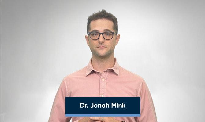 Dr. Jonah Mink - title