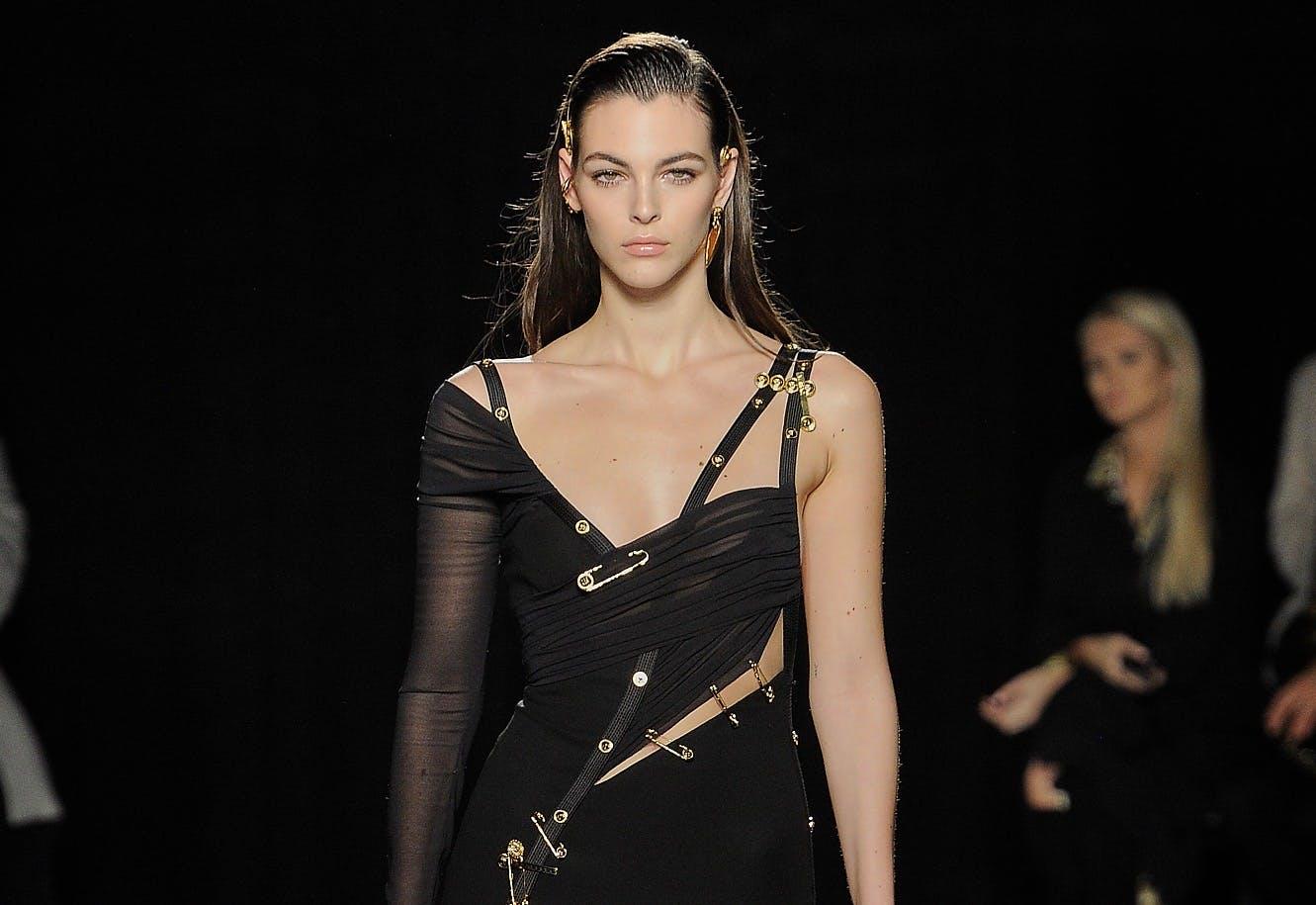 Versace Recreates Liz Hurley and J.Lo's Iconic Red Carpet Dresses