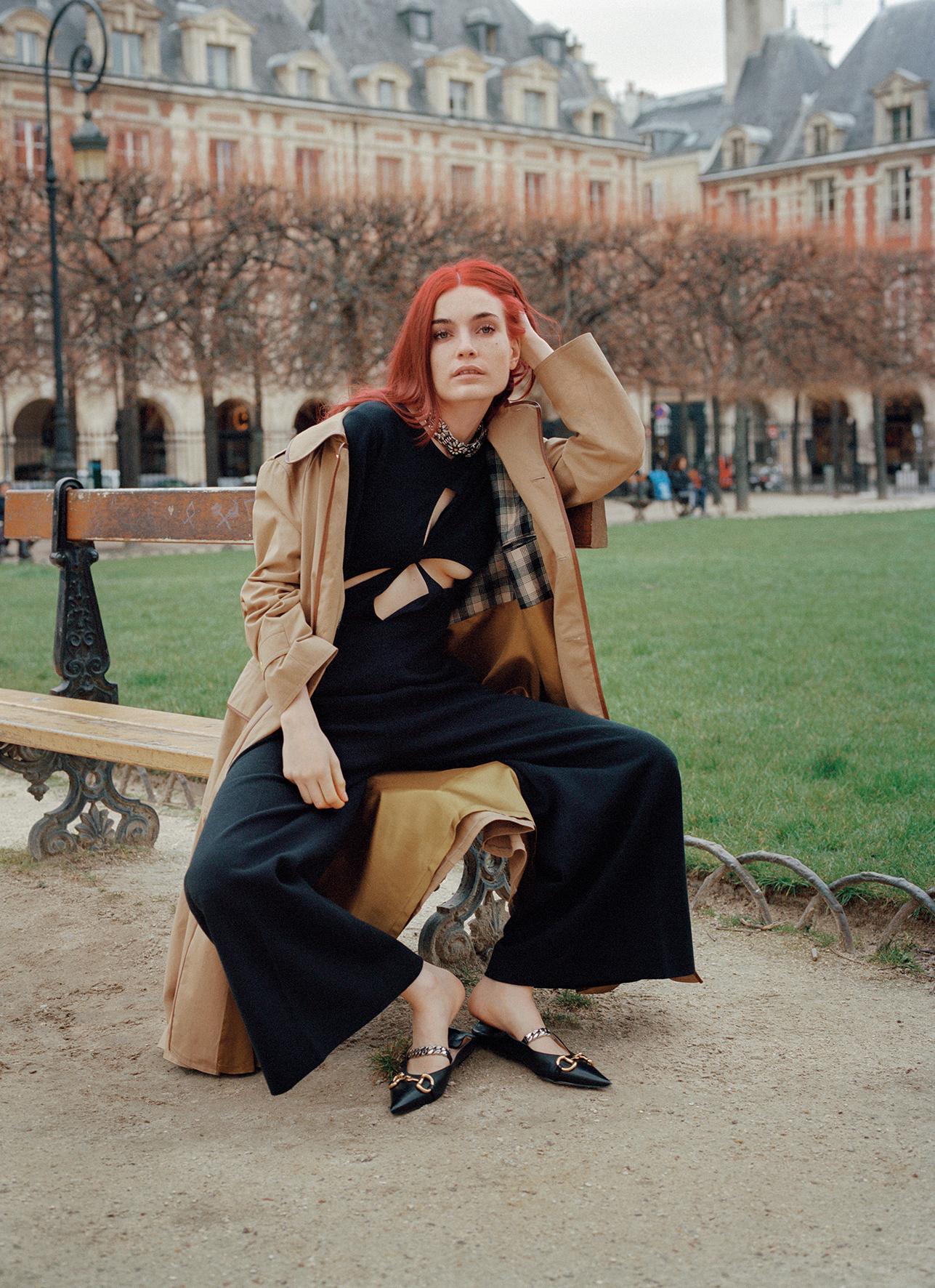 Fashion Scion Puma Rose Buck, 90s model Sybil Buck's daughter ...
