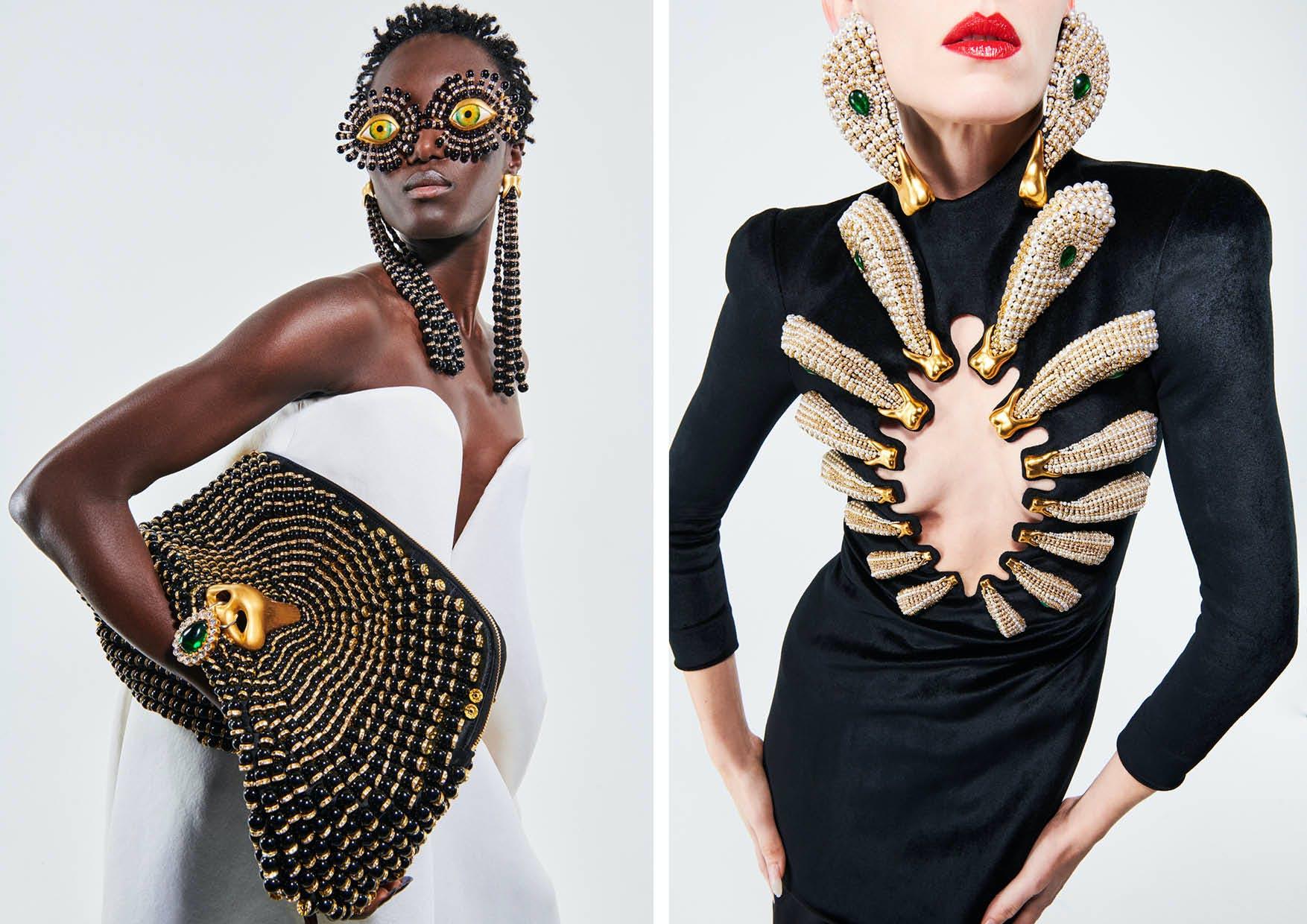 Schiaparelli Spring/Summer 2021 Haute Couture - The Magic of Schiaparelli  Enhances the Bod