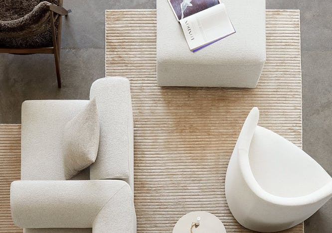 Houkime Rug designed by Nina Bruun for Menu.