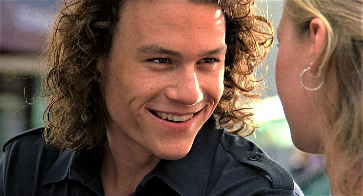 Heath Ledger's 10 Best Movie Roles - Heath Ledger Joker 10 Things I Hate  About You Movies