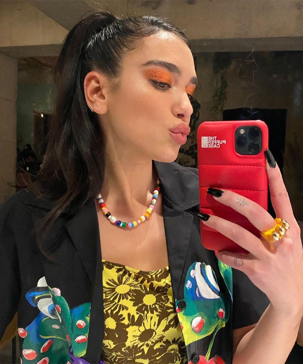 We Are All Obsessed with Beaded Necklaces - Bead Chokers Necklaces Jewelry Dua Lipa Eliou