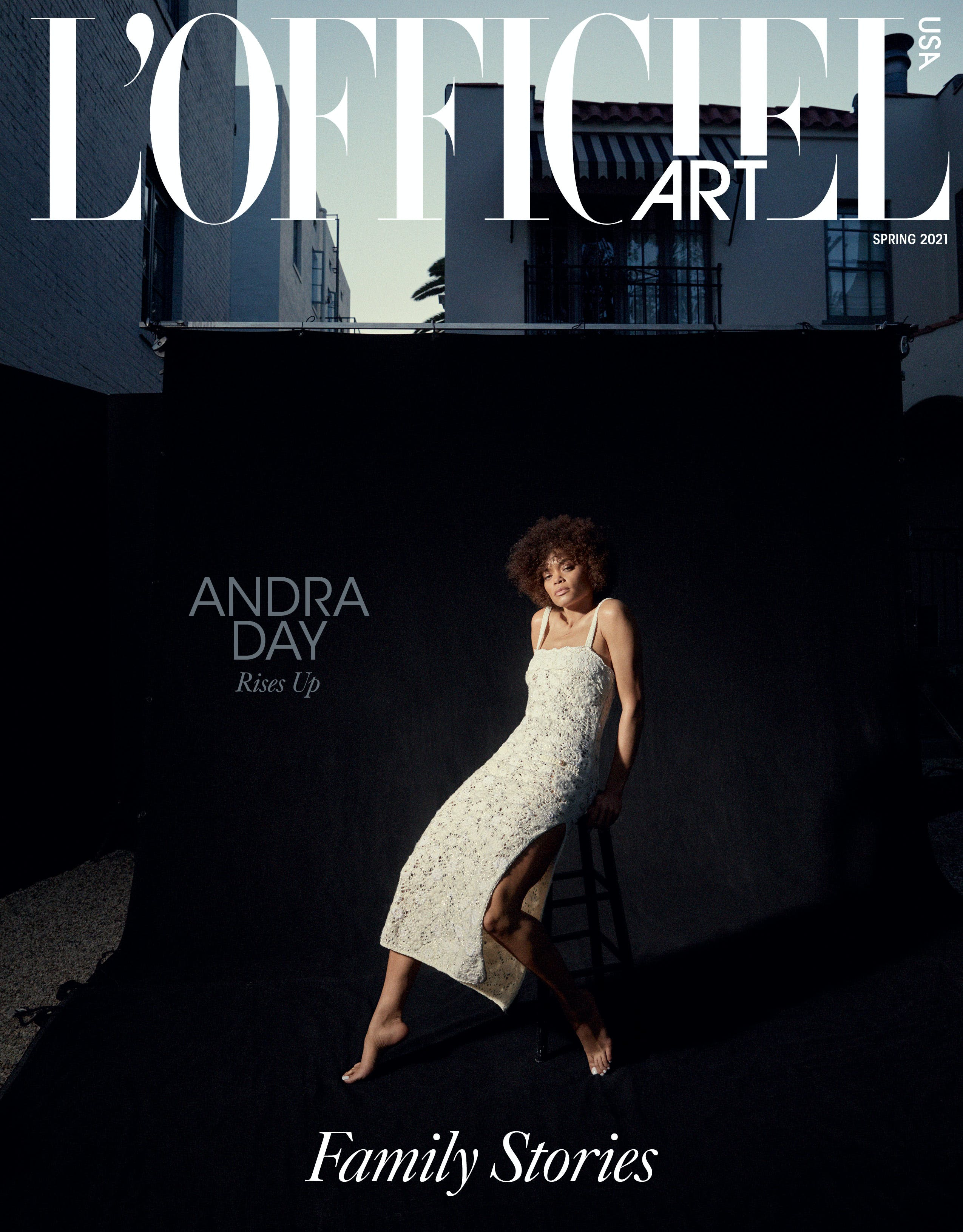 L'OFFICIEL Art USA Spring 2021 Issue - Andra Day