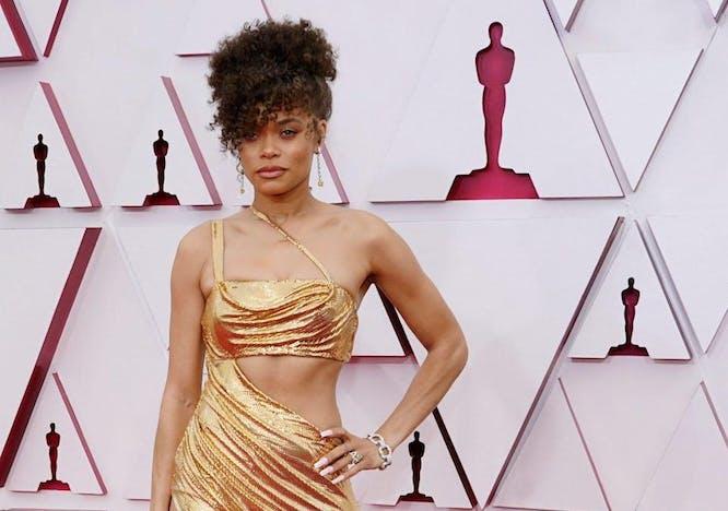 Andra Day at 2021 Oscars