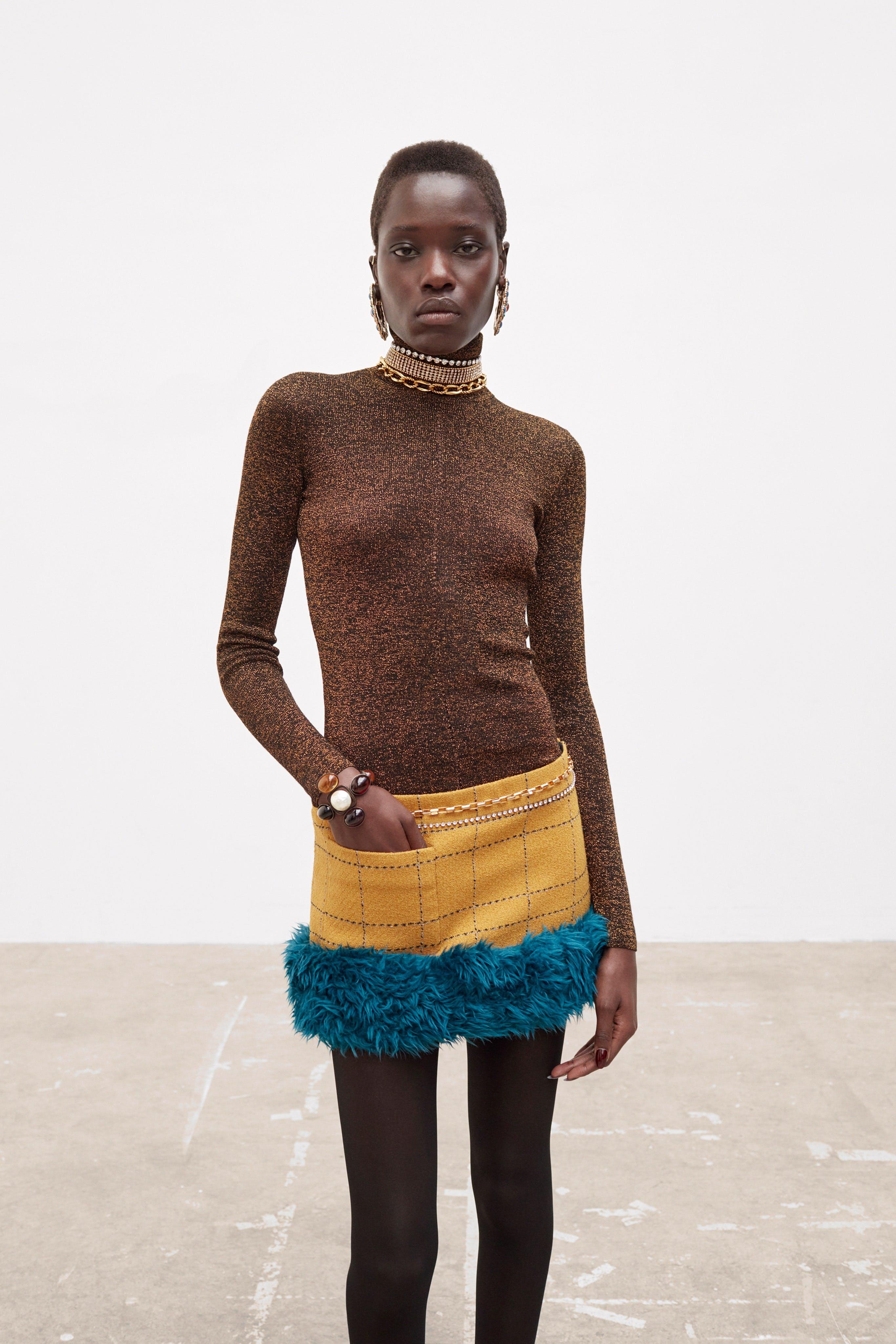 Mini skirts out of fashion The Mini Skirt Is Here To Stay Mini Skirt Trend 60s Runway Saint Laurent Miu Miu