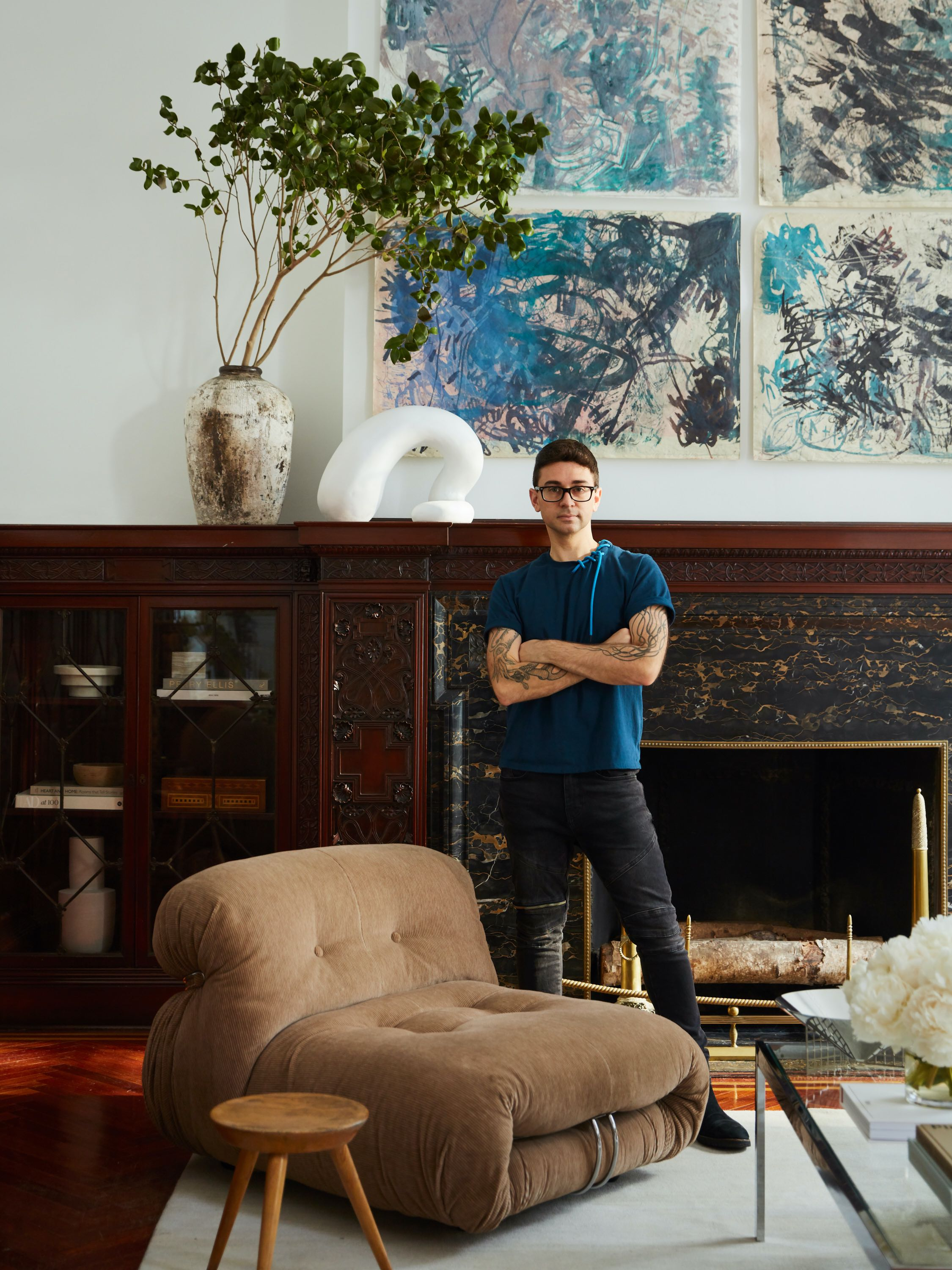 Christian Siriano's Debut Furniture Collection is a Mid-Century Dream