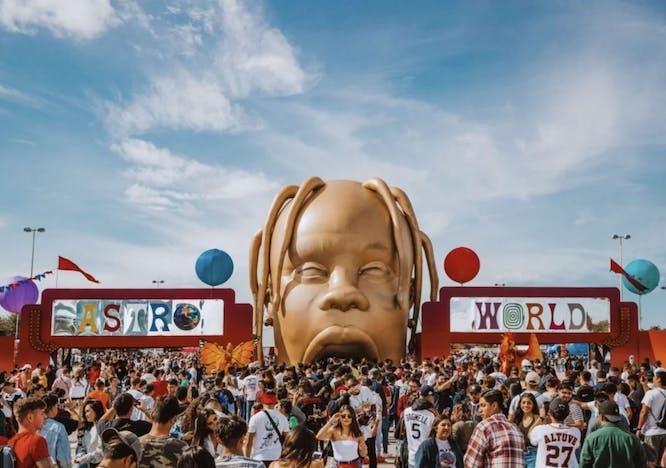 Travis Scott's Astroworld music festival.