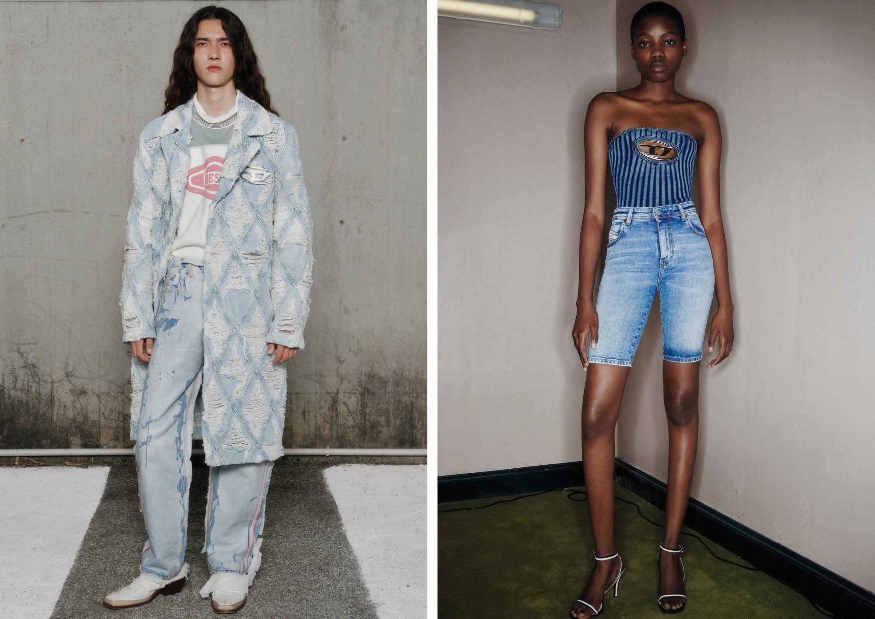 Glenn Martens Reimagines the Diesel Tradition for Spring/Summer 2022 - Milan Fashion Week
