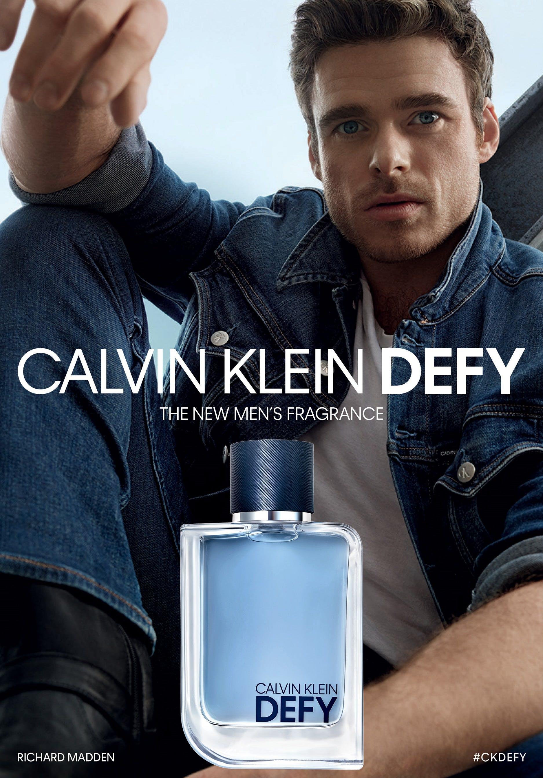 Richard Madden Defies The Odds For Calvin Klein S New Fragrance Eternals Actor Defy