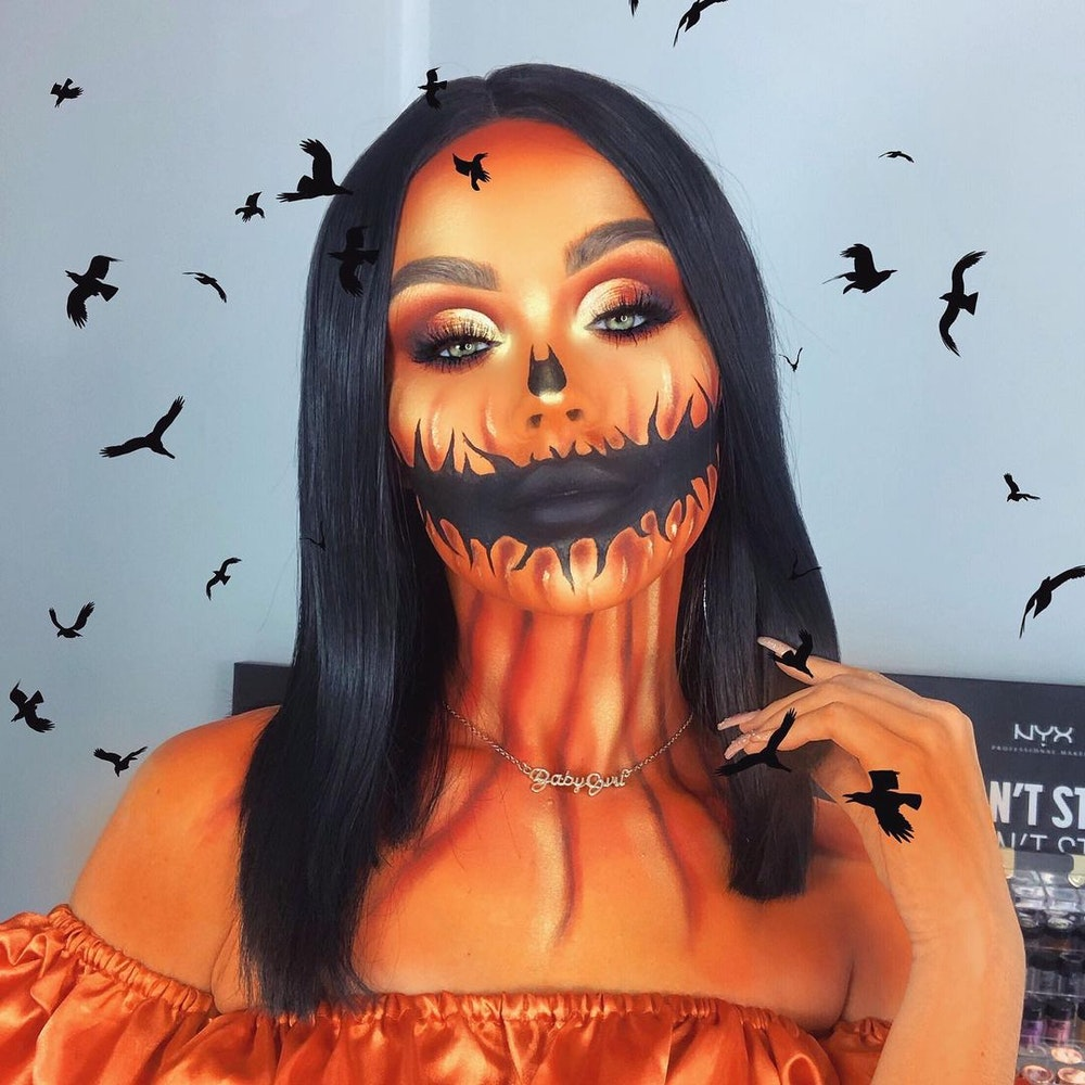 All You Need is Makeup for These 10 Halloween Looks - Easy Halloween Costume Beauty