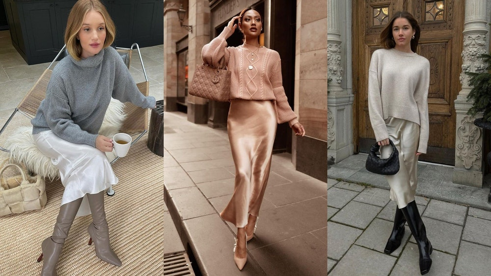 How to Style the Sweater and Skirt Combination for Fall — Trends Style Fashion