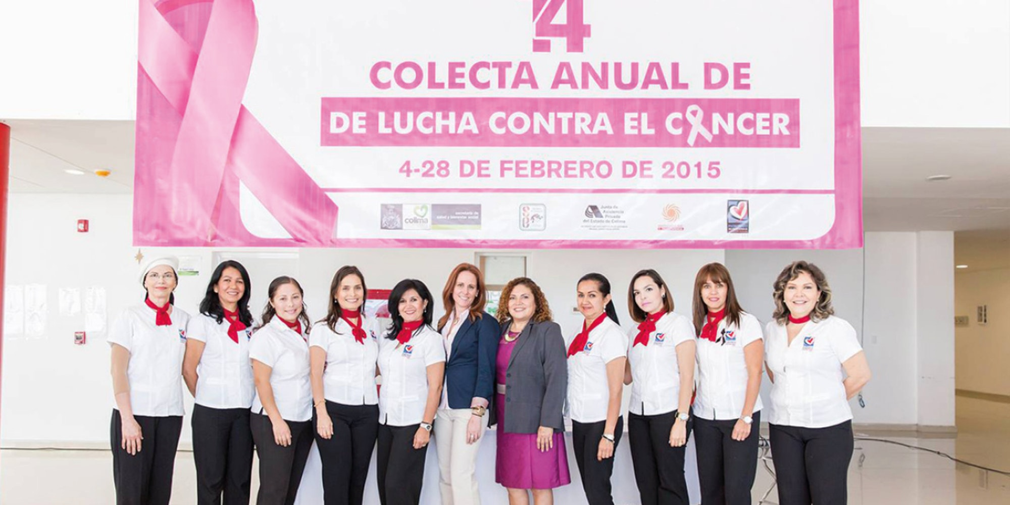 Cover Image for Inician actividades de la 14a Colecta Anual de Lucha Contra el Cáncer.