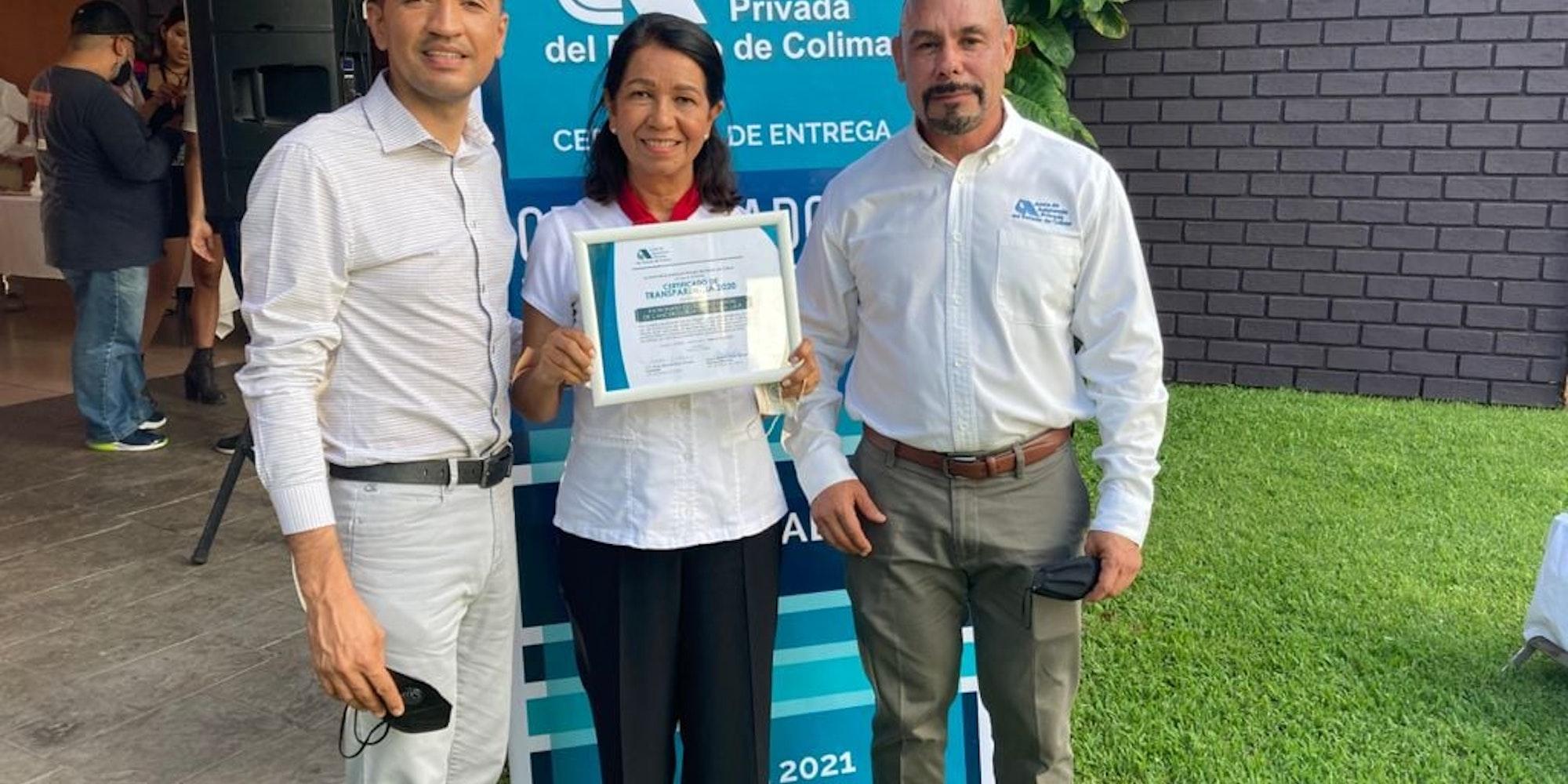 Cover Image for El Patronato de Cancerología refrenda su Certificado de Transparencia