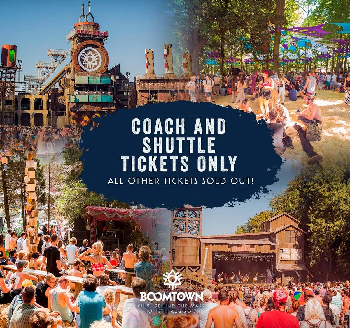 Coach & Shuttle Tickets Left!