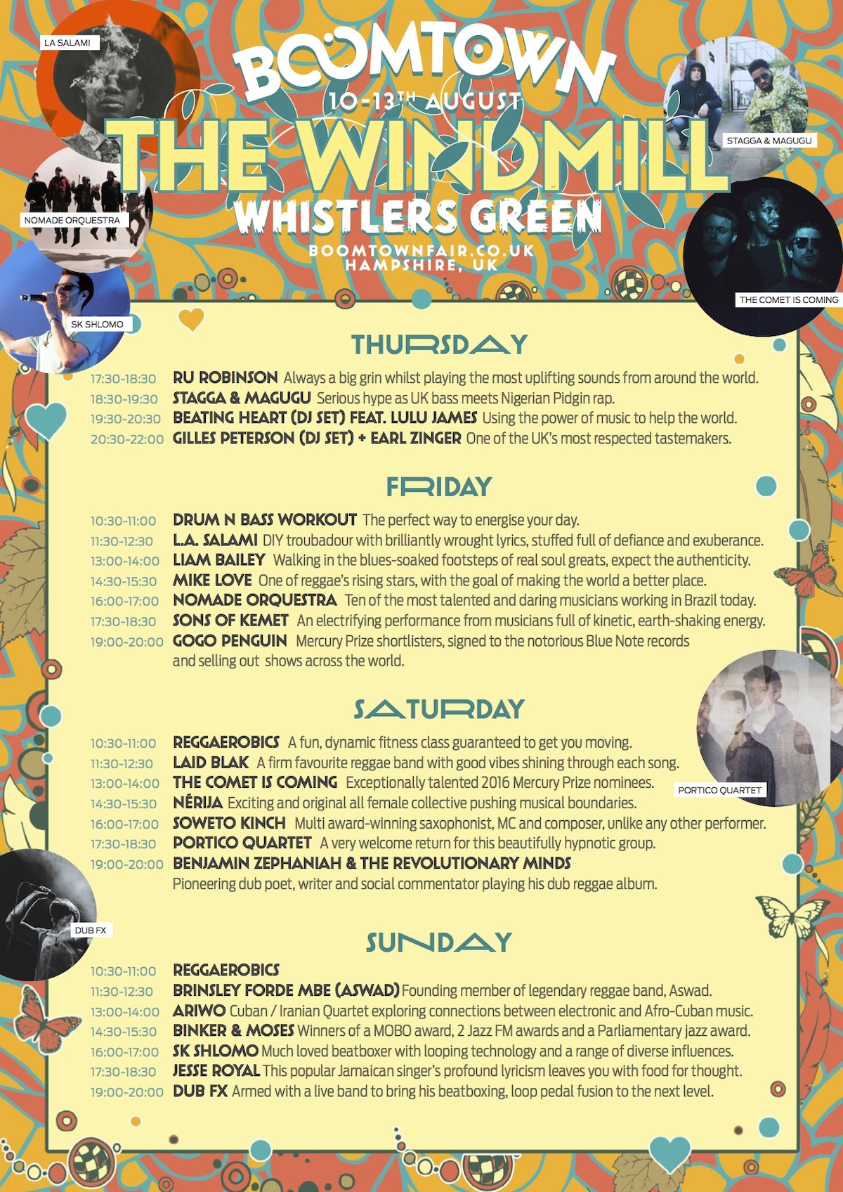 The Windmill - Full Line Up!