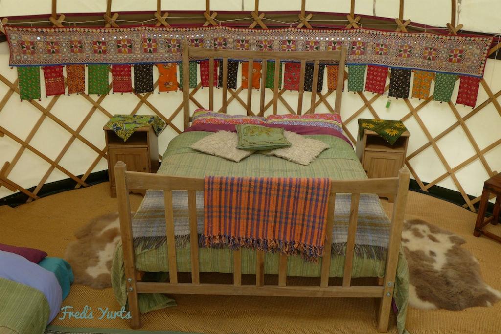 Comfort Yurts (sleeps 2 - 3)