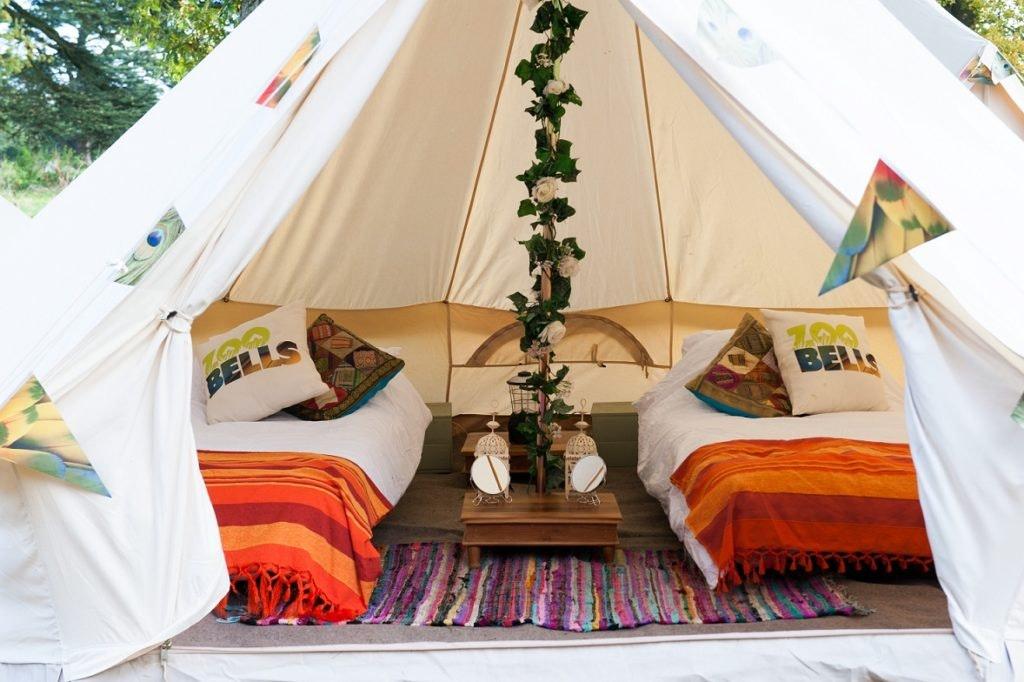Comfort Bell Tents (sleeps 2 - 4)
