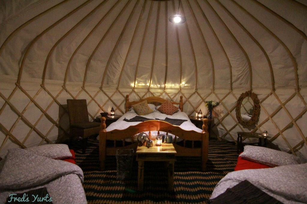 Comfort Yurts (sleeps 2 - 4)