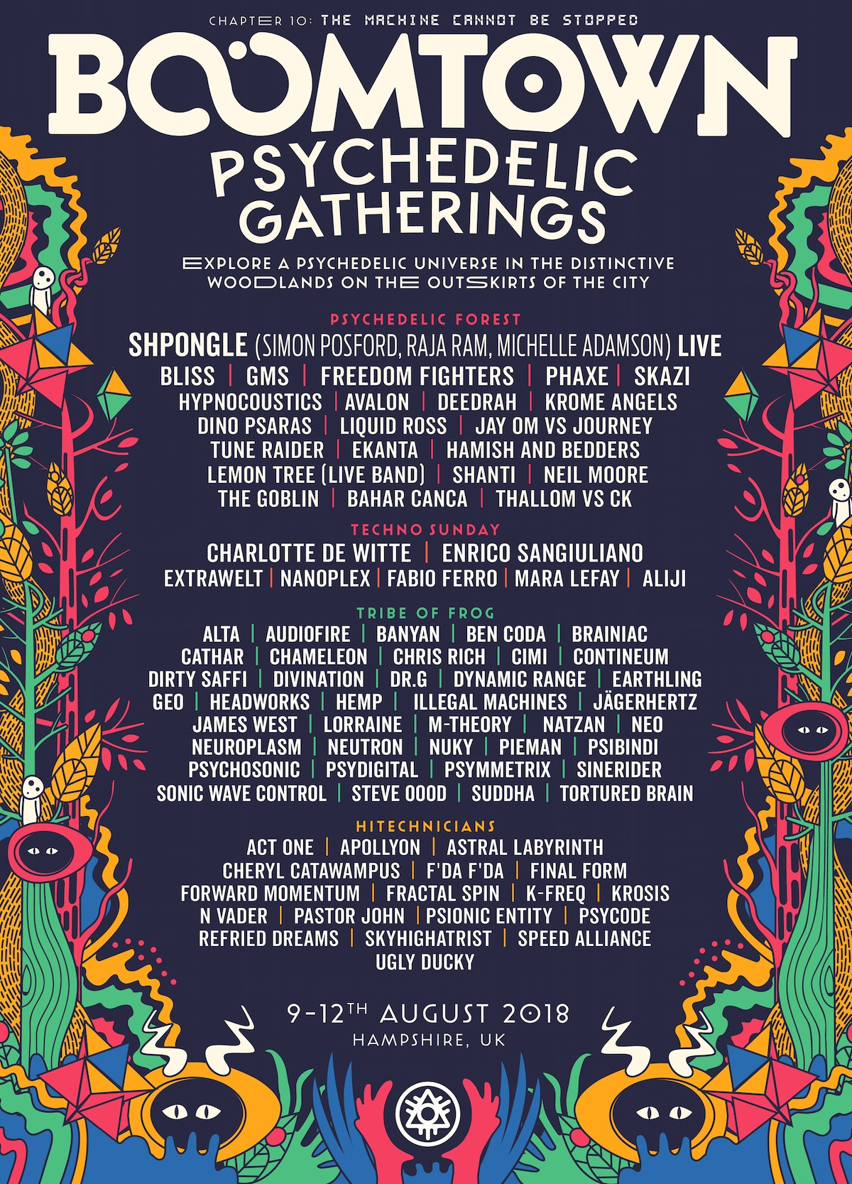 District Announcement: Psychedelic Gatherings