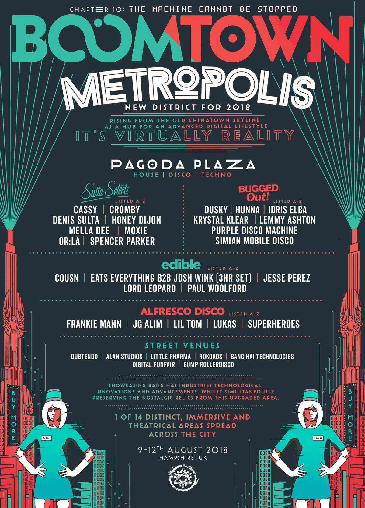 District Announcement: Metropolis