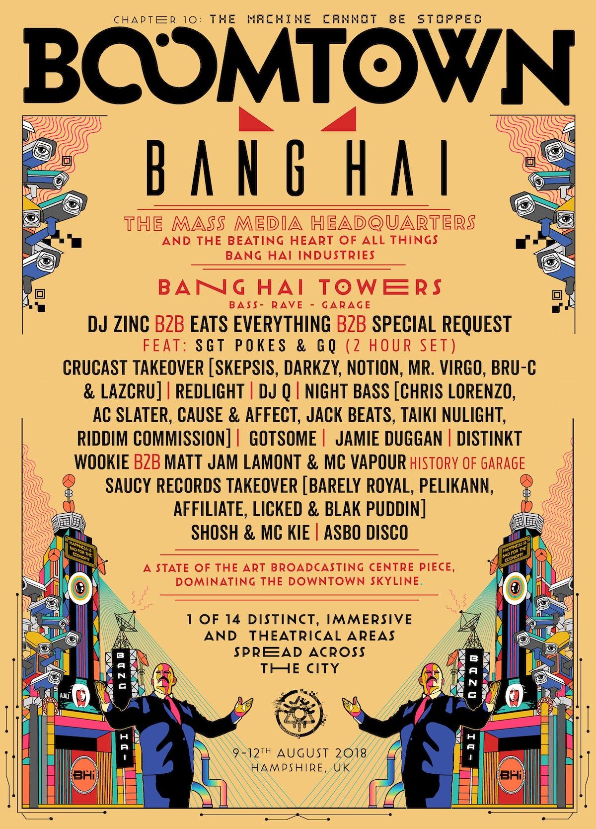 District Announcement: Bang Hai Towers