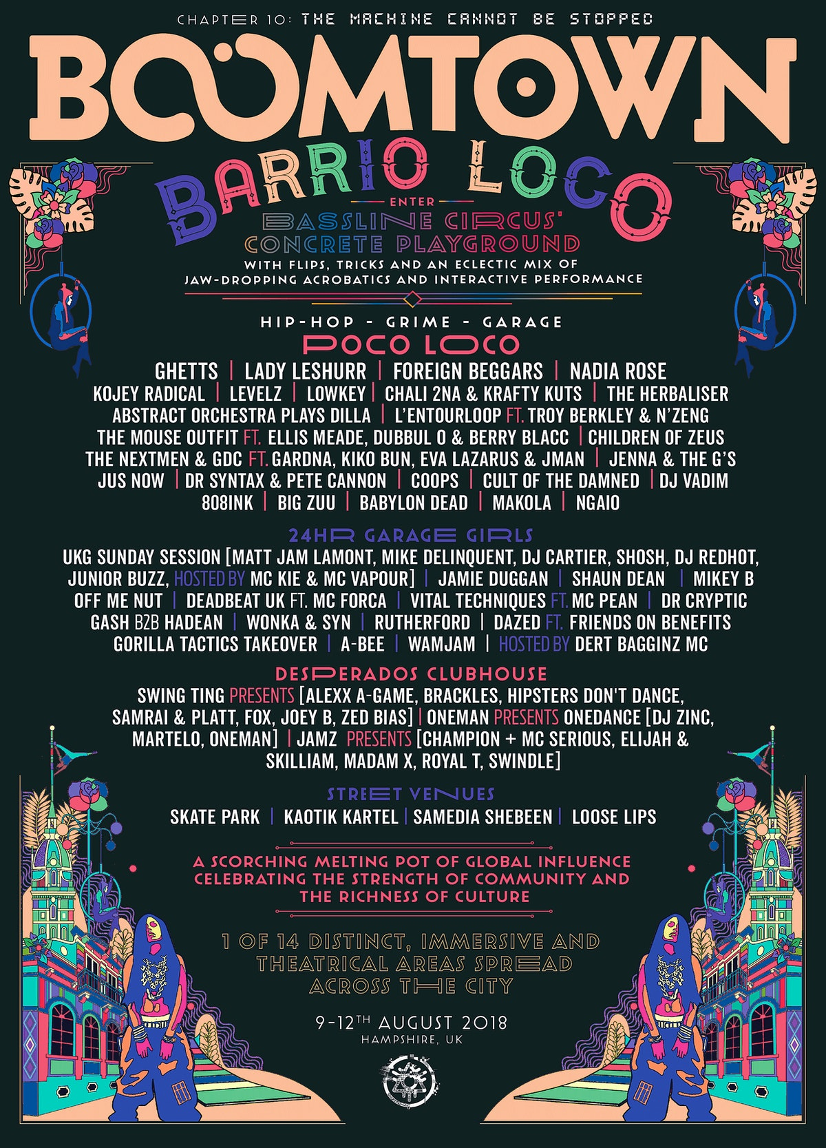District Announcement: Barrio Loco