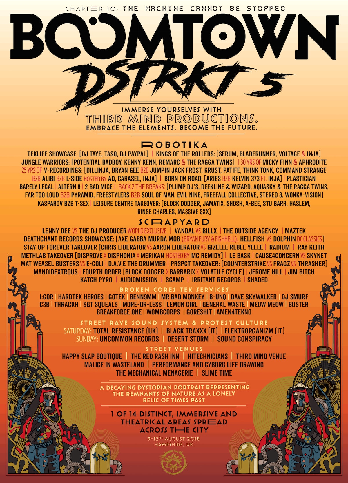 District Announcement: DSTRKT 5