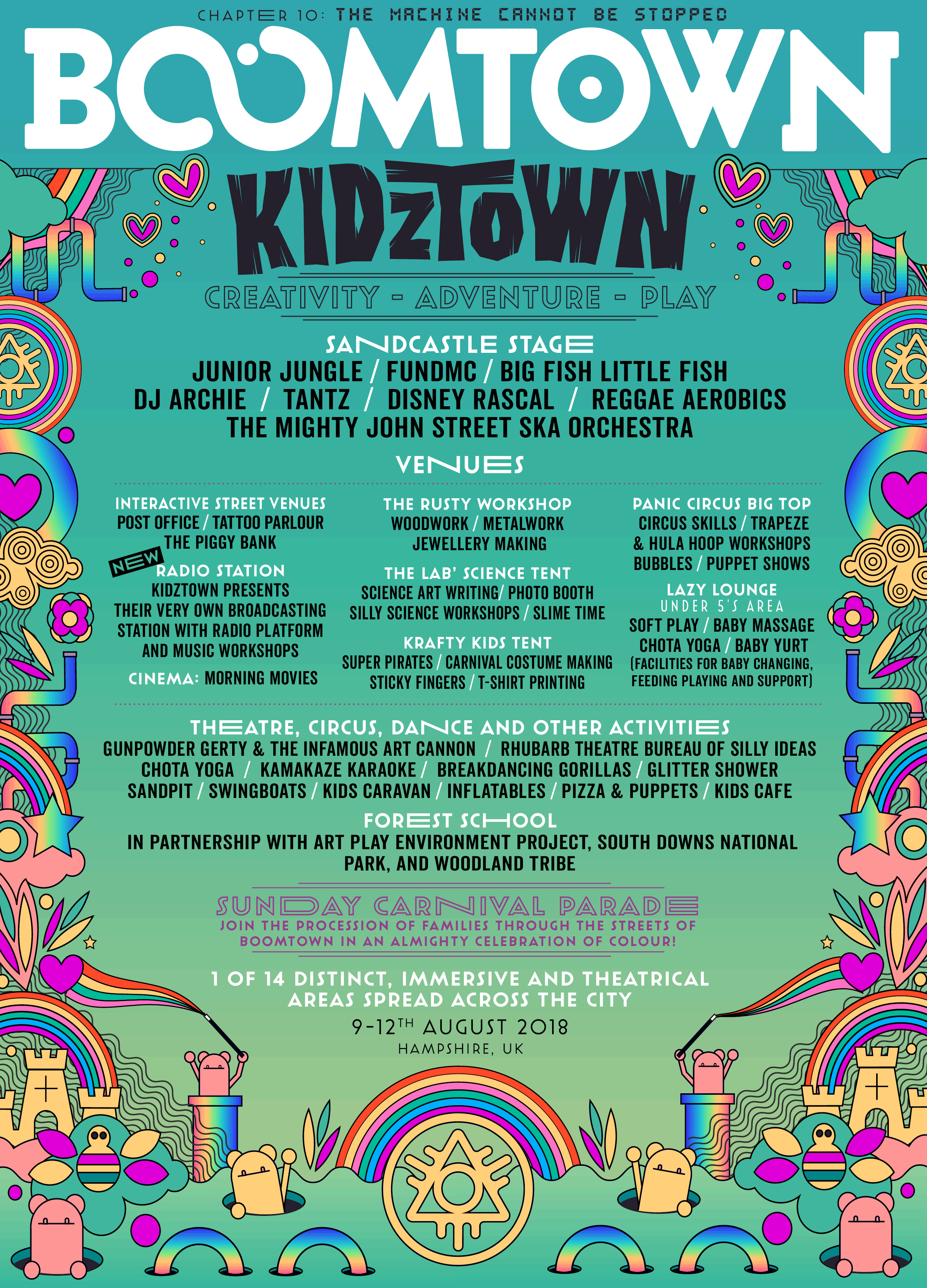 District Announcement: Kidztown
