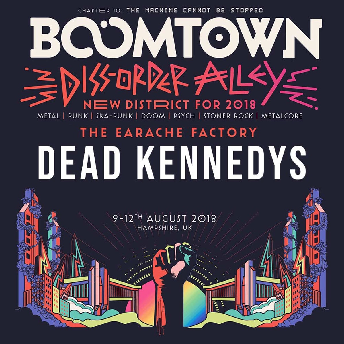 Dead Kennedys added to the Diss-order Alley Line-up!